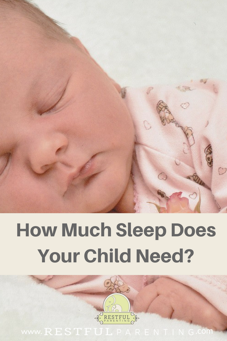 How Much Sleep Does Your Child Need? Find out at RestfulParenting.com