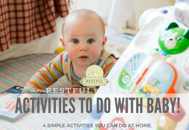 Activities You Can do with Your Baby