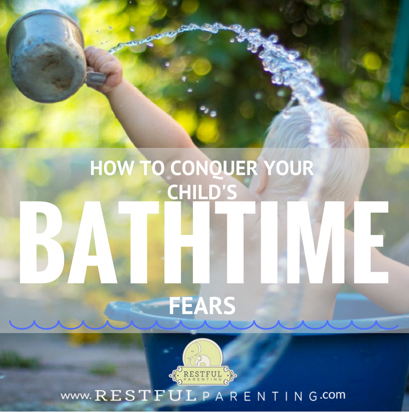 How to Conquer Bathtime Fears: Has your little one gone from being a water baby to now screaming the second you start talking about bath time? Fear of the bath can be quite common with babies and children of all ages for many, many different reasons. We've got some tips to help you conquer their fears!