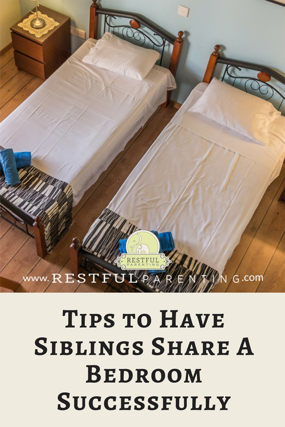 How Siblings Can Share A Bedroom Successfully